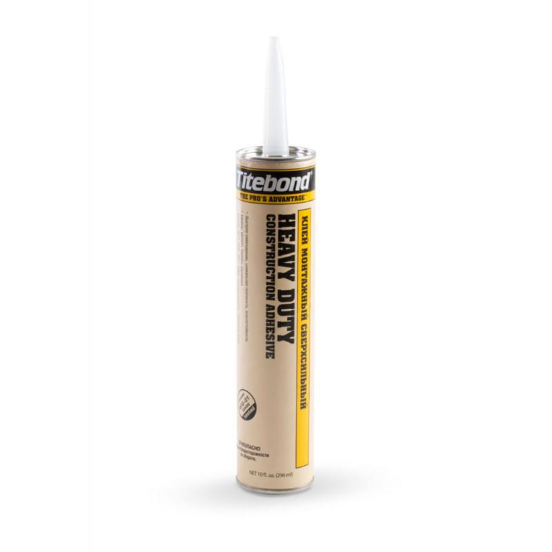 Titebond Heavy Duty - cверхсильный клей (желтая туба)