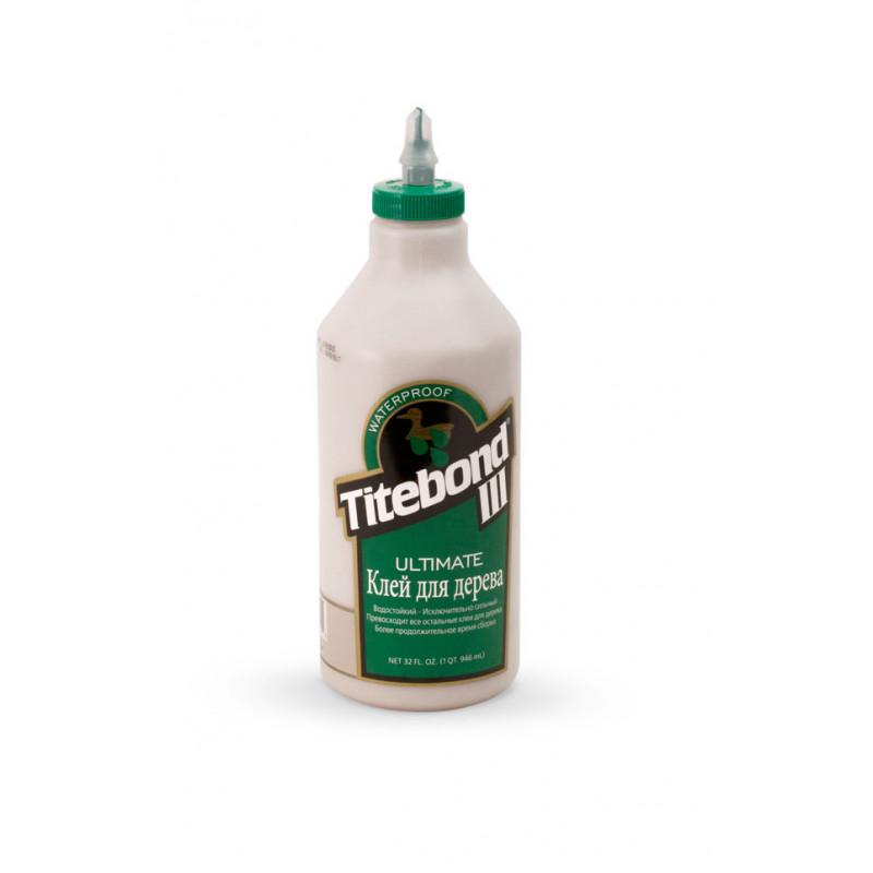 Клей для дерева  Titebond III Ultimate Wood Glue - влагостойкий D4 (946мл)