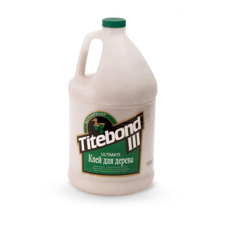Клей для дерева  Titebond III Ultimate Wood Glue - влагостойкий D4 (3,78л)