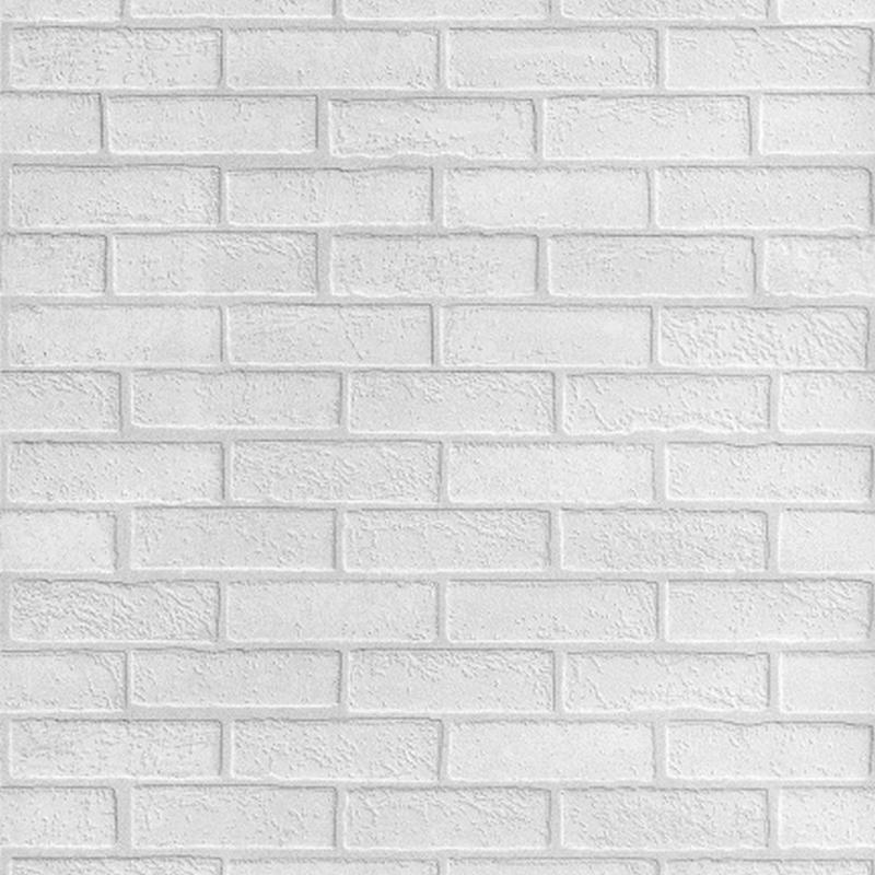 Панели МДФ с тиснением Quick Wall  Кирпич белый под покраску   (КОД: 00)