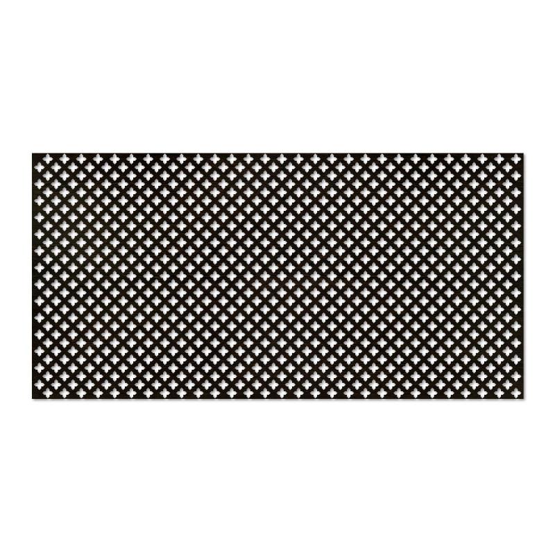 Панель декоративная перфорированная Готико  Венге 120*60 см
