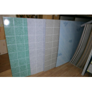 Листовые панели на ХДФ под кафельную плитку EUCATEX